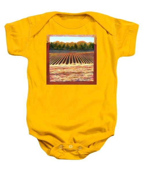 Fallow Field Baby Onesie