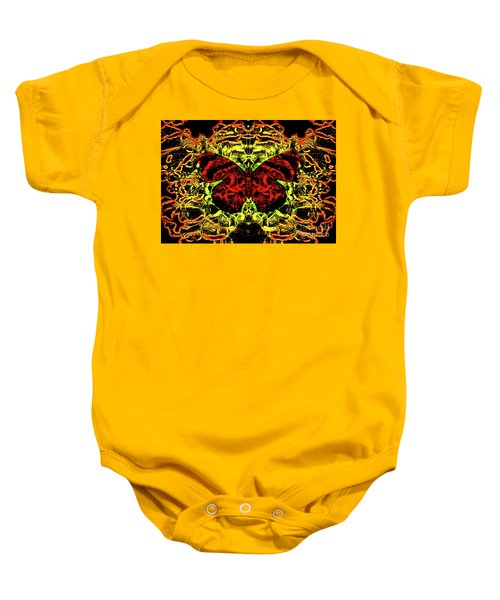 Fear Of The Red Admirals Baby Onesie