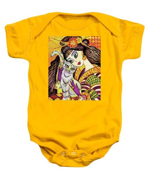 Feline Rhapsody Baby Onesie