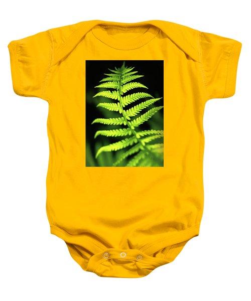 Fern Leaf Baby Onesie