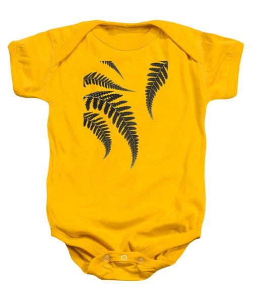 Fern Leaves Baby Onesie