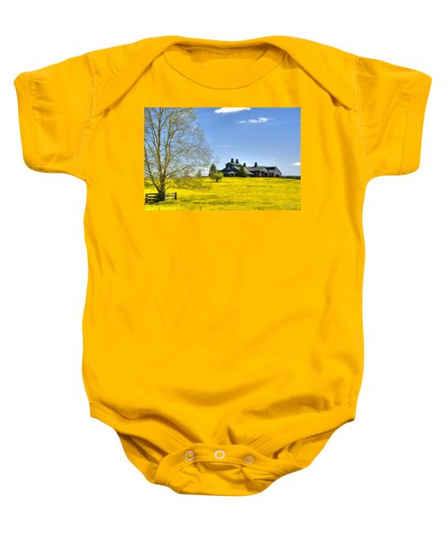 Fields Of Gold Baby Onesie