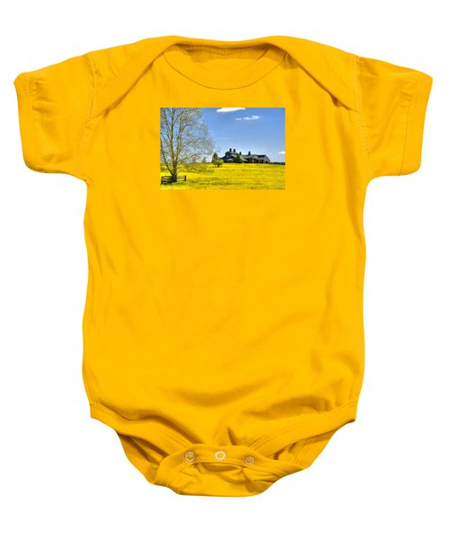 Fields Of Gold Baby Onesie