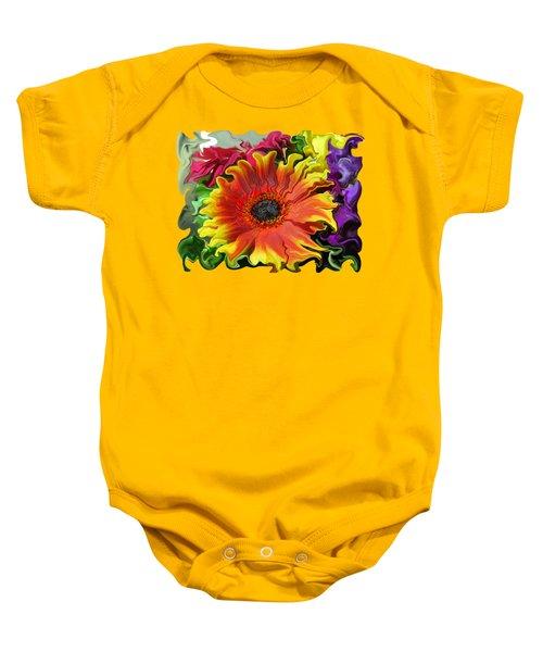 Floral Fiesta Baby Onesie