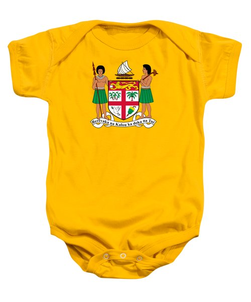 Fiji Coat Of Arms Baby Onesie by Movie Poster Prints
