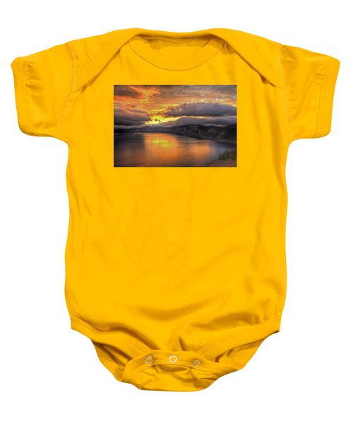 Fire In The Lake #1 Baby Onesie