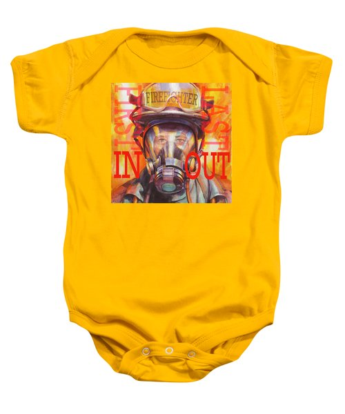 Firefighter Baby Onesie