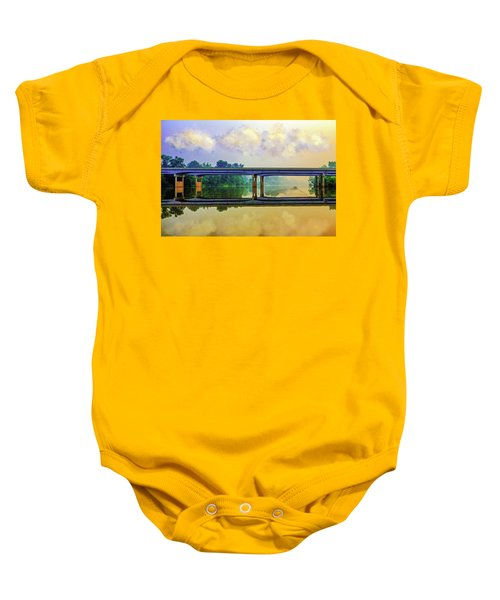 Fishin' For Angels Baby Onesie