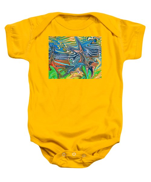 Flow Sketch Baby Onesie