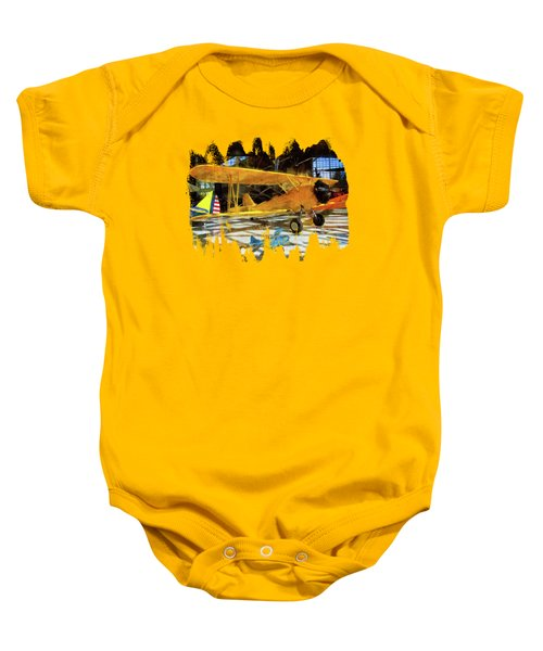 Fly Me To The Moon Baby Onesie by Thom Zehrfeld