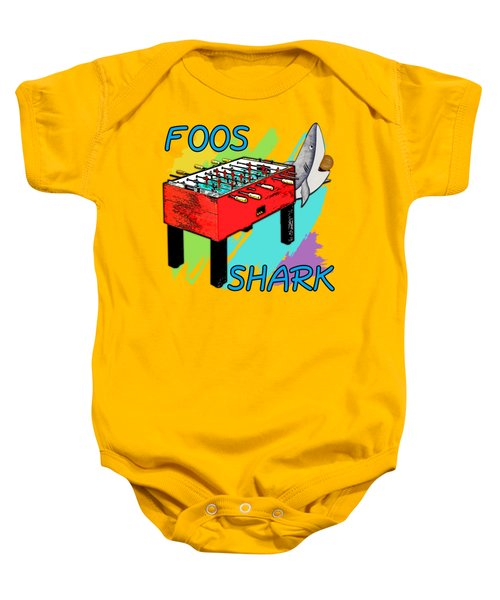 Foos Shark Baby Onesie by David G Paul