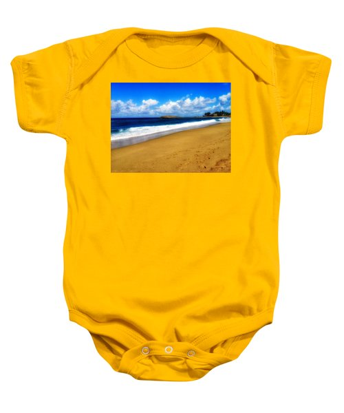 Foot Prints  Baby Onesie