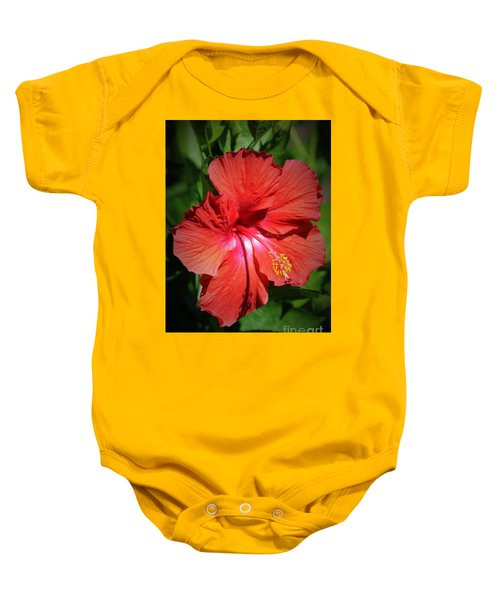 For The Love Of Hibiscus Baby Onesie