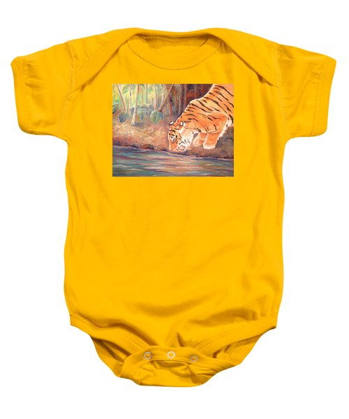 Forest Tiger Baby Onesie