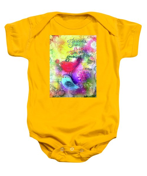 Friends Always Baby Onesie