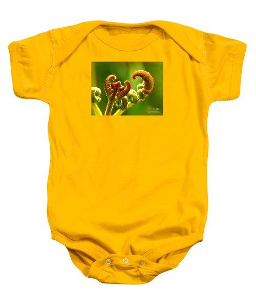 Frond Fern Baby Onesie