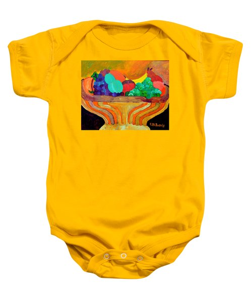 Fruit Bowl 1 Baby Onesie
