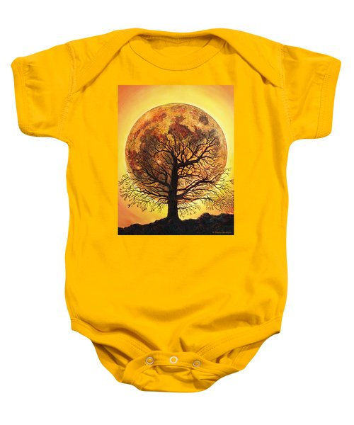 Full Moonrise. Baby Onesie