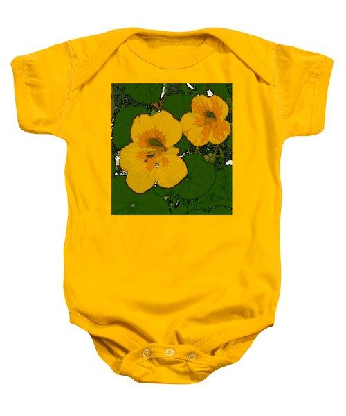 Garden Love Baby Onesie