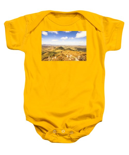 Glorious Tasmania Baby Onesie