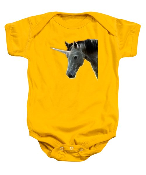 Glowing Unicorn Baby Onesie
