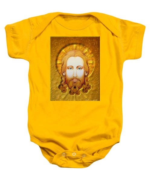 Gold Plate Icon Baby Onesie