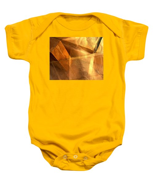 Gold Still Baby Onesie