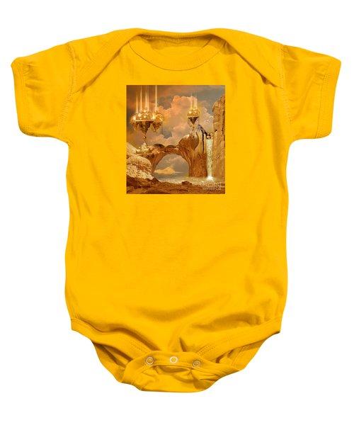 Golden City Baby Onesie