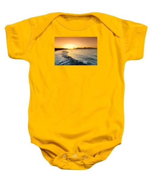 Golden Gate Curl Baby Onesie