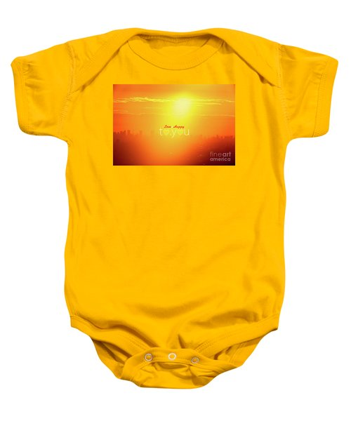 To You #002 Baby Onesie