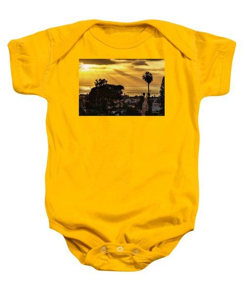 Golden Moment Baby Onesie