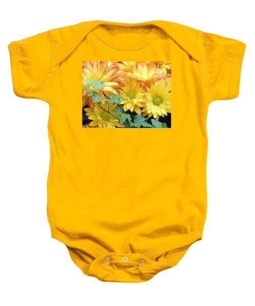 Golden Mums And Ivy Baby Onesie