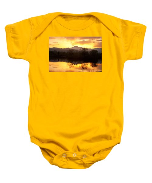 Golden Ponds Longmont Colorado Baby Onesie by James BO  Insogna