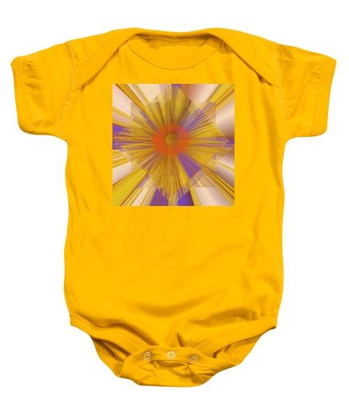 Golden Rays Baby Onesie