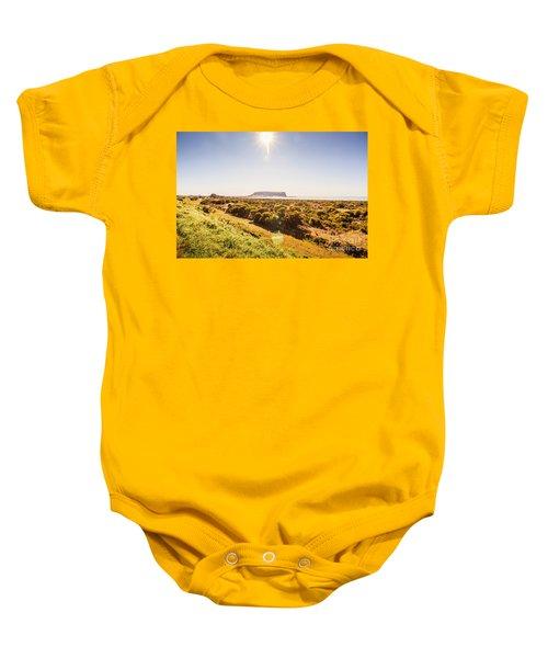 Golden Stanley Landscape Baby Onesie
