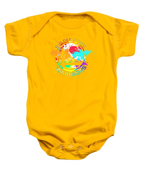 Golden State Warriors Pop Art Baby Onesie