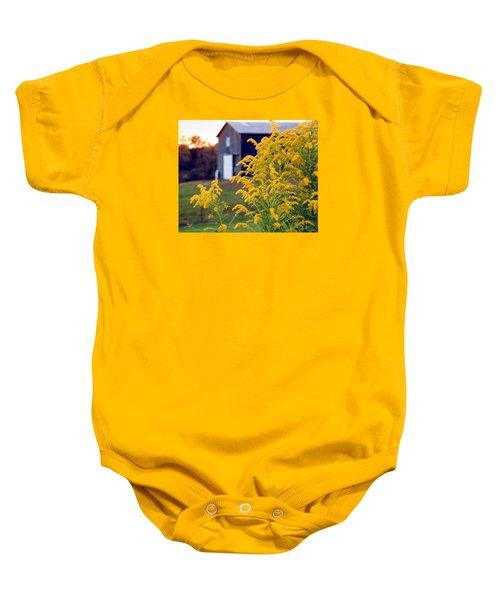 Goldenrod Baby Onesie