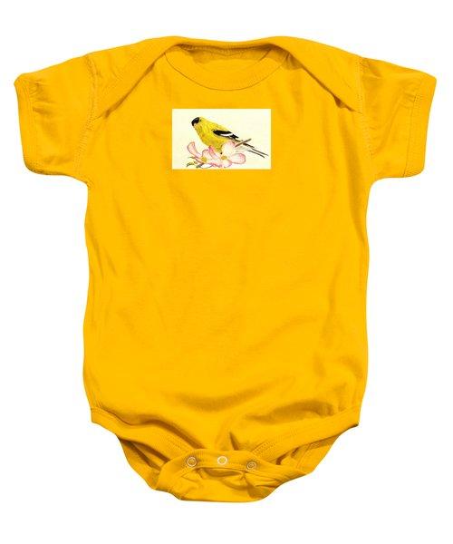 Goldfinch Spring Baby Onesie