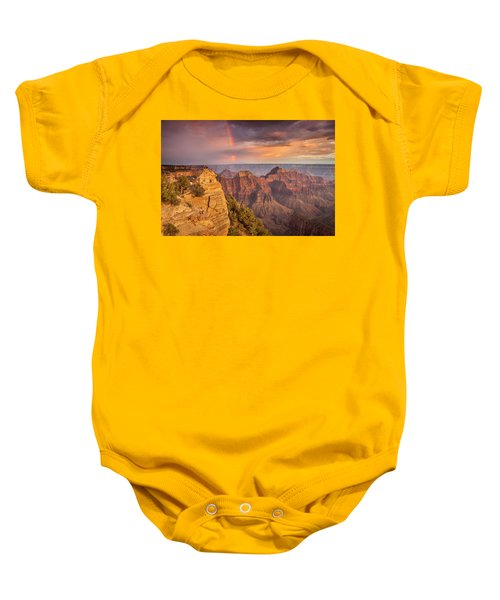 Grand Canyon North Rim Rainbow Baby Onesie