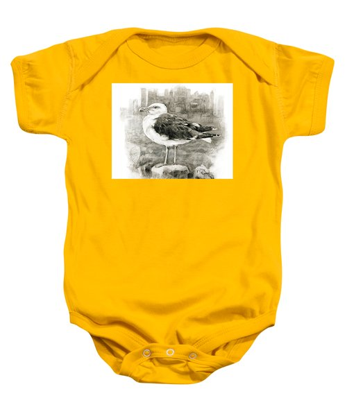 Great Black-backed Gull Baby Onesie