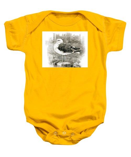 Great Black-backed Gull Baby Onesie