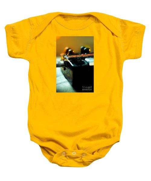 Guitar Pedal Baby Onesie
