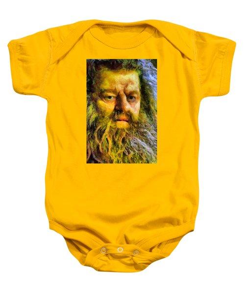 Hagrid Baby Onesie