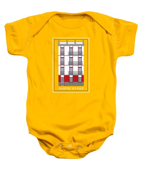 Happy House Baby Onesie