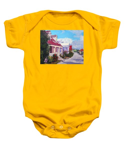 Heart Of The Current Baby Onesie