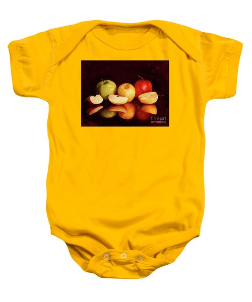 Hein Apples Baby Onesie