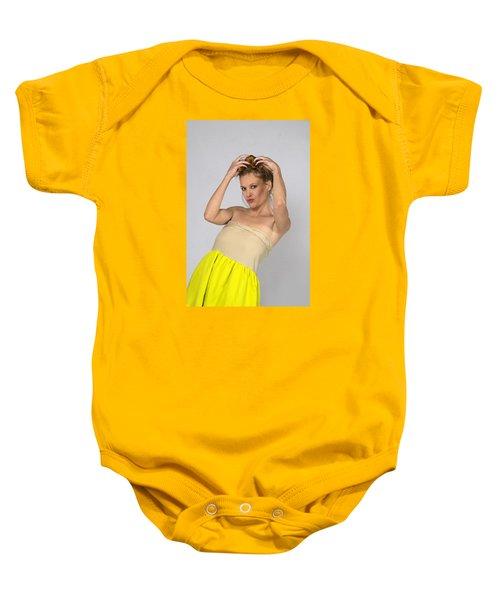 Helen In Party Dress Baby Onesie