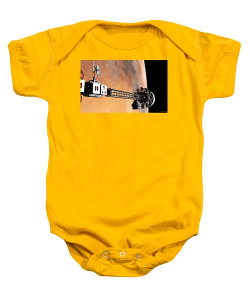 Hello, Huston From Hermes, Do You Read Me Baby Onesie