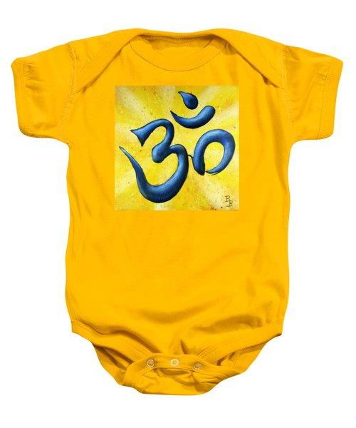 Hindu Om Symbol Art Baby Onesie