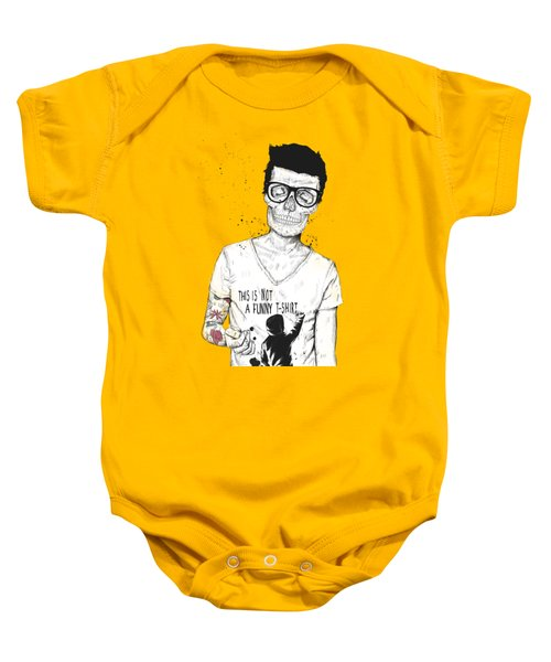 Hipsters Not Dead Baby Onesie